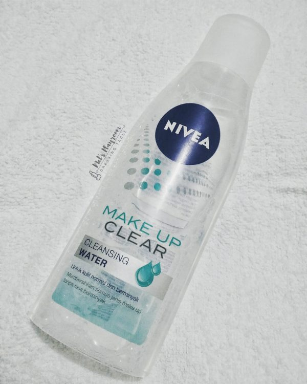 wp 1469634614616 e1612556103146 Nivea Makeup Clear Cleansing Water Review