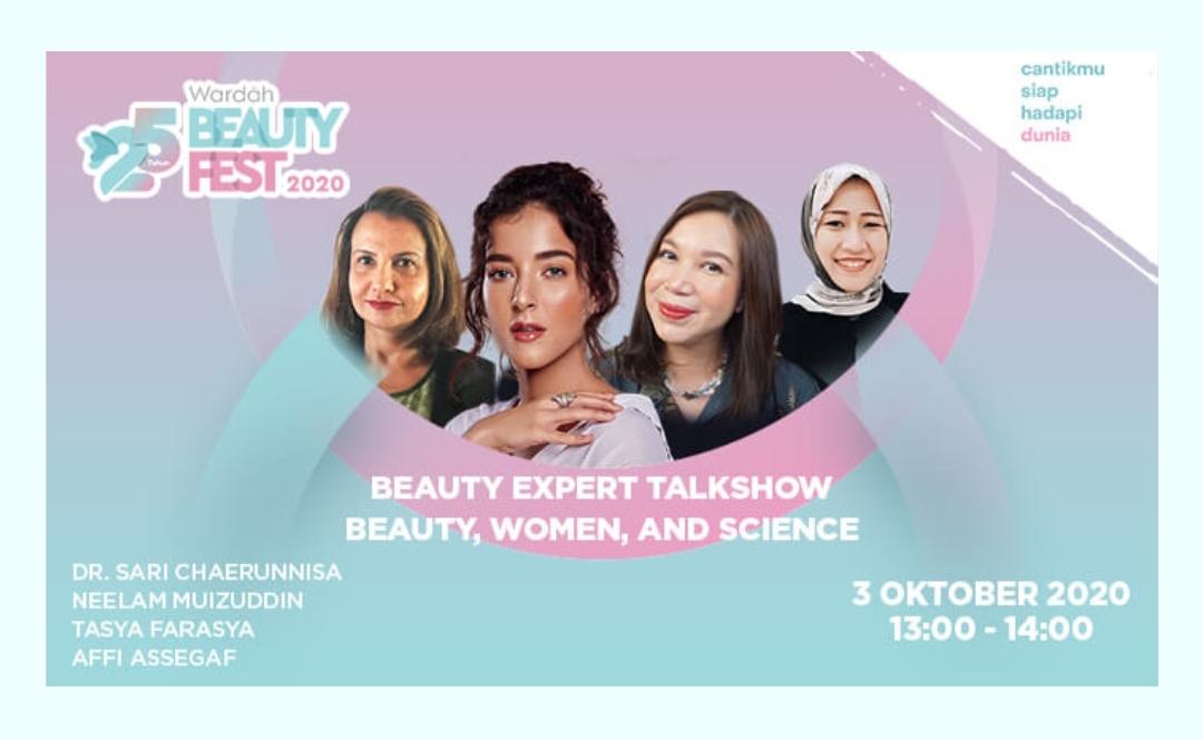 IMG 20201005 231233 25 Tahun Wardah Beauty Festival Bicarakan Tren Kecantikan Terkini