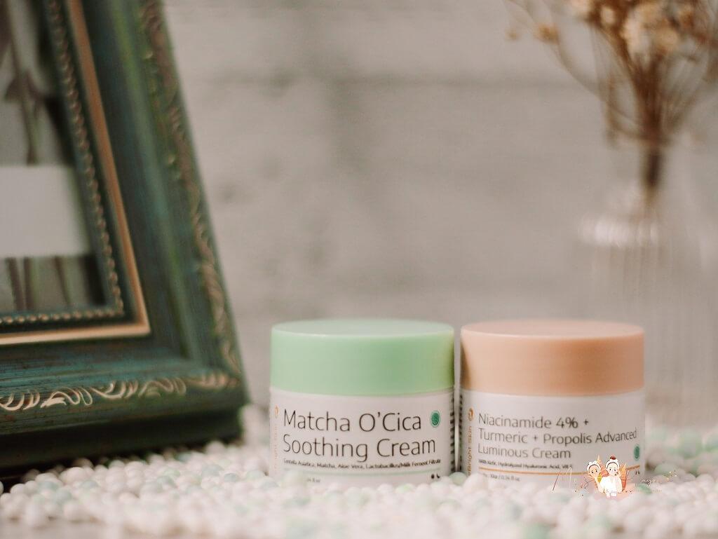 eBright Skin Cream 3 Review eBright Skin Matcha O'Cica Soothing Cream